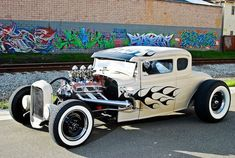 Wow, what a Hot Rot car