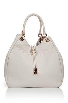 127cc054a9fe SALVATORE FERRAGAMO - White Loe Shoulder Bag. Find more 2012 must-haves on  www.FashionLoveStruck.com