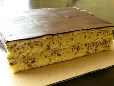 ciasto wesoły słonecznik Sweet Recipes, Cake Recipes, Hungarian Cake, Good Food, Yummy Food, Sweet Pastries, Polish Recipes, Food Cakes, How Sweet Eats