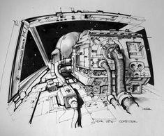 concept art Joe Johnston - Google Search
