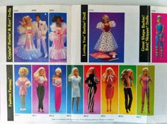 how many outfits do you remember?  I had the heart dress and birthday party barbie to name a few