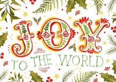 Joy to the World + spreading Christmas cheer