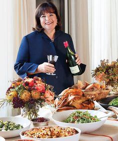 Ina Garten's Favorite Thanksgiving Recipes
