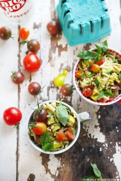 Summer Pasta Salad | FamilyFreshCooking.com #glutenfree