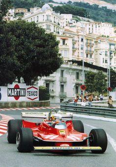 1979 Ferrari 312 T4 in Monaco. Driven by Jody Scheckter