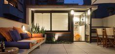 Una bellissima terrazza con appartamento