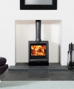 Wood Stoves, Log Burner, Fireplaces, New Homes, Home Appliances, Living Room, Kitchen, House, Home Decor