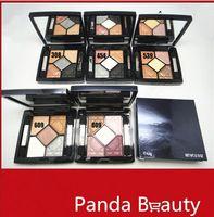 1PCs Maquillaje Marca 5 colores profesional del polvo sombra de ojos Paleta de sombra de ojos Shimmer Multi - Choice maquillaje pro envío gratuito