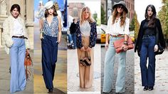 In Her Mind's Closet: Flared pants.  Fashiontrend spring/summer 2015.