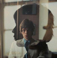 Mick Jagger | Doble exposición | Música | Hombre | Retrato | Vestimenta