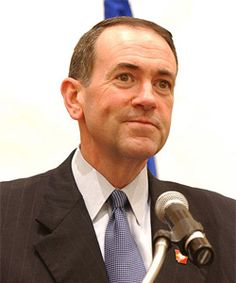 """Republican Mike Huckabee said : """"The Newtown shootings were the fault of gay people"""".  Huckabee, you are vermin."""