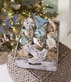 Coastal Wishes | White Christmas Holiday Decor Inspiration for the Home #beallsflorida