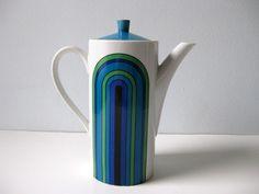 Cafetière Mod vintage des années 60