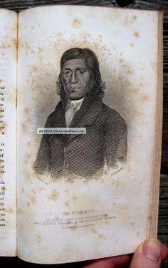 1855 Among Wild Indians Wyandot Huron Indian Sandusky Ohio Frontier Missionary Native American photo 2