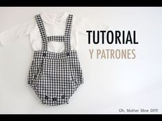 Sewing Baby Clothes, Baby Sewing, Doll Clothes, Girls Playsuit, Baby Girl Romper, Baby Boy Outfits, Kids Outfits, Baby Dress Design, Sewing For Kids