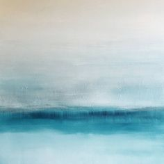 Buy Prints of Versed, a Acrylic on Canvas by KR Moehr from United States. It portrays: Landscape, relevant to: blue, texture, turquoise, water, white, abstract, landscape Versed is an abstract lightly textured abstract art painting. It is composed of blue, turquoise, grey, white on a wrapped, wood-frame canvas. It is ready to hang!