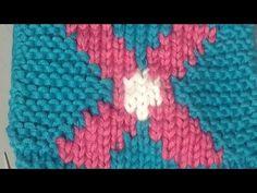 Bilder stricken - Intarsientechnik - YouTube