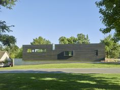 The Graphic House / Fayetteville, AR / Marlon Blackwell Architects (marlonblackwell.com) / Photograph by Timothy Hursley / #marlonblackwellarchitects #architecture #modernhome