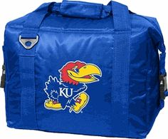 Kansas Jayhawks 12 Pack Cooler and Food Container $28.00