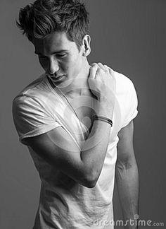 male photography | Male Fashion Model Stock Photo - Image: 26548680