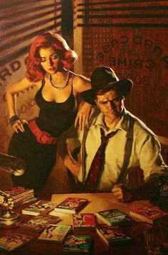 Glen Orbik. I can seriously never see too much of his work. In my absolute top 5 artists of the pulp genre.