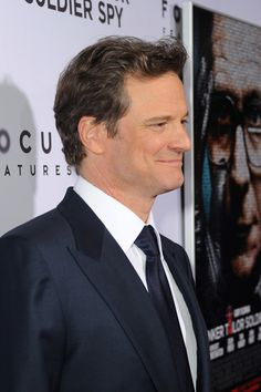 """Colin Firth in Premiere Of Focus Features' """"Tinker, Tailor, Soldier, Spy"""" - Red…"""