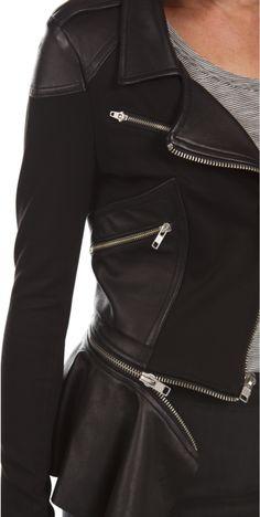 Mary Peplem Moto Jacket