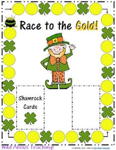 St. Patrick's Day Gameboard-FREEBIE!