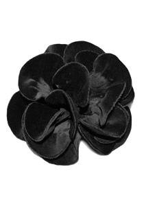 Lafayette 148 Velvet Flower Pin