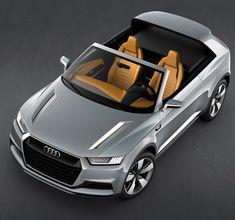 Audi's Crosslane Coupé