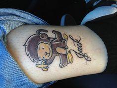 Monkey Tattoo.