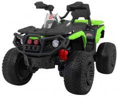 Pret-240 Eur. ATV ELECTRIC PENTRU COPII 3588 VERDE Lawn Mower, Atv, Outdoor Power Equipment, Monster Trucks, Vehicles, Kids 4 Wheelers, Green, Lawn Edger, Mtb Bike