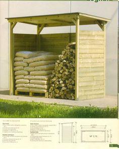 tettoia in legno per legnaia - Cerca con Google