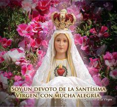 I <3  a la Virgen María de Fátima