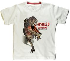 Camiseta Dinossauro T-Rex