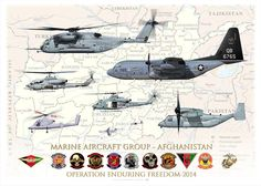 "UNITED STATES MARINE CORPS MARINE AIR GROUP AFGHANISTAN (MAG-A) Operation ""Enduring Freedom"" 2014"
