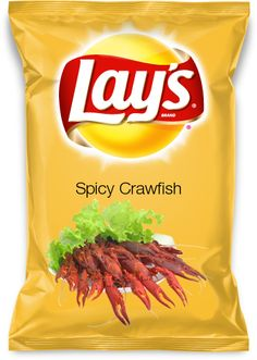 Vote for my Flavor: Spicy Crawfish