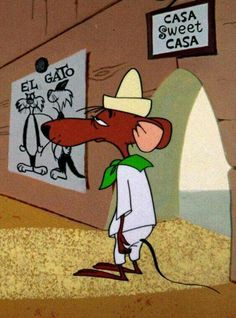 Slowpoke Rodriguez - one of my all time favorites! - Schweinchen Dick & Co - Cartoon Looney Tunes Cartoons, Retro Cartoons, Old Cartoons, Classic Cartoons, Animated Cartoons, Classic Cartoon Characters, Favorite Cartoon Character, Cartoon Tv, Vintage Cartoon