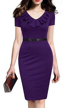 Impressive Pencil Dress Ideas For Women Work - Clothing Shapes Pencil Dress, Peplum Dress, Bodycon Dress, Women's Fashion Dresses, Dress Outfits, Event Dresses, Formal Dresses, Ruffle Shorts, Business Dresses