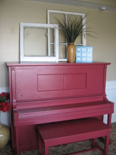 DIY Painted Piano | Via Amanda Hendrix