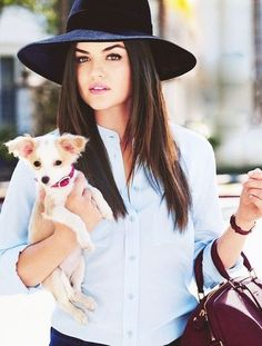 lucy hale Hair Inspiration | #SideSmileBeauty