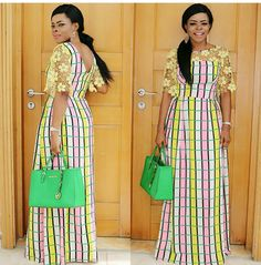 is an African fashion and lifestyle website that showcase trendy styles and designs, beauty, health, hairstyles, asoebi and latest ankara styles. African Maxi Dresses, African Fashion Ankara, Ankara Gowns, Ghanaian Fashion, African Inspired Fashion, African Dresses For Women, Africa Fashion, African Attire, African Wear
