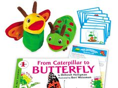 From Caterpillar to Butterfly Big Book Activity Kit $49.99  Creative Curriculum requires that children have opportunities and materials available in the library for retelling stories. This kit would support a variety of literacy skills, as well as math and social-emotional skills. Great addition to the Trees study.
