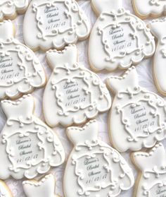 Finally have a perfect cutter thanks to Wedding Dress Cookies, Wedding Cakes, Shower Favors, Spring Wedding, Cookie Decorating, Baked Goods, Cookie Recipes, Biscuits, Bridal Shower