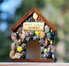Mosaic Birdhouse Eco Friendly Dog Lovers
