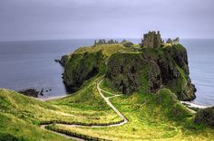 I have always wanted to go to Scotland. Dunnottar Castle