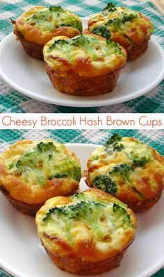 Broccoli Hash Brown Cheese Cups #Recipe - a healthy, vegetarian and gluten-free recipe that's quick to make and tastes delicious! A total crowd-pleaser. Even the kids love them! | www.pinkrecipebox.com