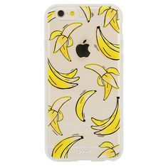That's Bananas Phone Case (1.140 UYU) ❤ liked on Polyvore featuring accessories, tech accessories, phone case and phone