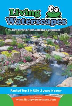 Living Waterscapes is the premier water garden design, installation, & service company in the Triad area. Our store features ponds, waterfalls, & supplies.