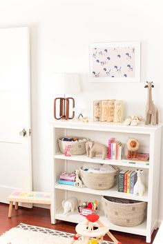 Nursery shelves